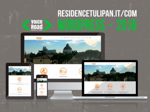 Sito web WordPress – 2016